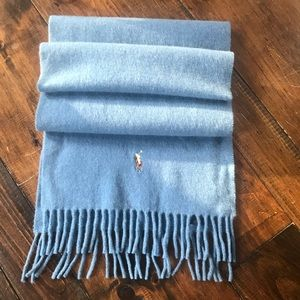 Polo Ralph Lauren wool and Cashmere Blend Scarf